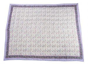 Floral Hand Block Print Cotton Baby Quilt Dohar - SHJ-HBP-BQDH-087