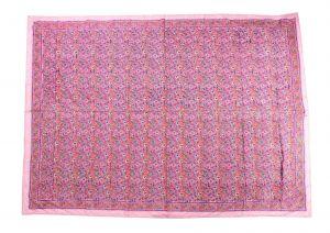 Floral Hand Block Print Cotton Baby Quilt Dohar - SHJ-HBP-BQDH-089
