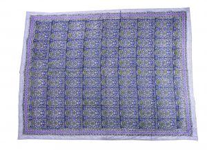 Floral Hand Block Print Cotton Baby Quilt Dohar - SHJ-HBP-BQDH-090