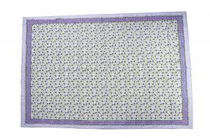 Floral Hand Block Print Cotton Baby Quilt Dohar - SHJ-HBP-BQDH-092