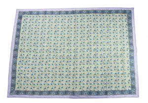 Floral Hand Block Print Cotton Baby Quilt Dohar - SHJ-HBP-BQDH-095