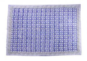 Floral Hand Block Print Cotton Baby Quilt Dohar - SHJ-HBP-BQDH-096