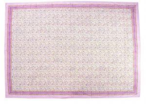 Floral Block Print Dohar - SHJ-HBP-BQDH-103