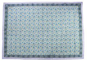 Floral Hand Block Print Cotton Baby Quilt Dohar - SHJ-HBP-BQDH-104