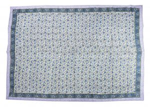 Floral Hand Block Print Cotton Baby Quilt Dohar - SHJ-HBP-BQDH-105