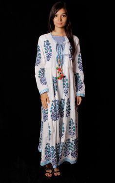 Hand Block Printed Dress - SH-HBPD-W-006