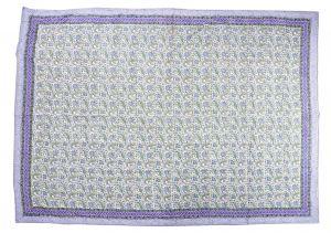 Floral Hand Block Print Cotton Baby Quilt Dohar - SHJ-HBP-BQDH-101