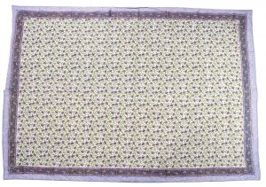 Floral Hand Block Print Cotton Baby Quilt Dohar - SHJ-HBP-BQDH-106