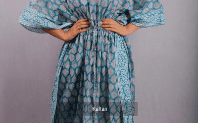 Block Printed Kaftans