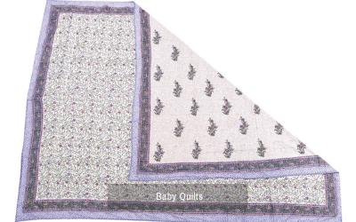 Block Print Baby Quilt